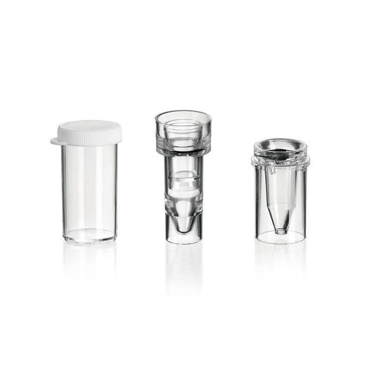Transparent 16*38mm PS Biochemical Analyzer Sample Cup