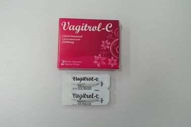 China Clotrimazoletablet 500 Mg, de Vaginale Room van Zetpilclotrimazole fabriek